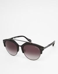 Круглые солнцезащитные очки с полуоправой Vivienne Westwood Anglomania
