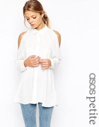 Блузка с открытыми плечами ASOS PETITE