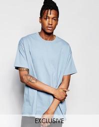 Oversize-футболка Reclaimed Vintage - Синий
