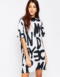 Платье-футболка Cheap Monday - Белый