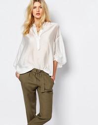 Oversize-блузка Sessun Artiste - Белый