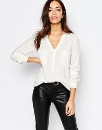 Блузка с пуговицами спереди J.D.Y - Белый JDY