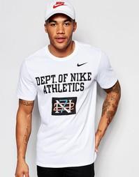 Белая футболка с принтом Nike 779704-100