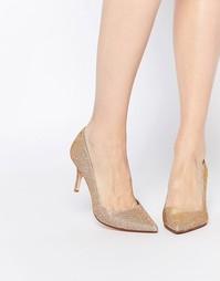 Туфли-лодочки на каблуке Dune Alina - Розовый