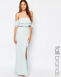 Платье макси TFNC Tall - Мятный