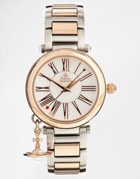 Двухцветные часы с цифрами Vivienne Westwood VV006PRSSL - Цветной