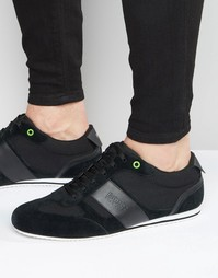 Кроссовки с логотипом Boss - Черный