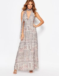 Millie Mackintosh Cut Out Maxi Dress - Мульти