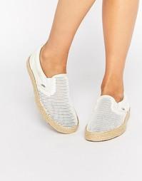 Сетчатые кроссовки‑эспадрильи Vans - Классический белый