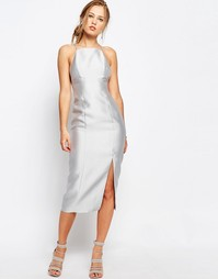Платье-футляр Keepsake Billboard - Бледно-серый