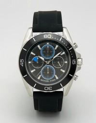 Черные часы с хронографом Michael Kors Jetmaster MK8485 - Черный
