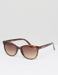 Черепаховые солнцезащитные очки в стиле 70‑х Ruby Rocks - Черепаховый