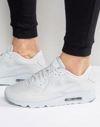 Кроссовки Nike Air Max 90 Ultra Breathe 725222-012 - Серый