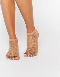 Сетчатые носки телесного цвета ASOS - Телесный