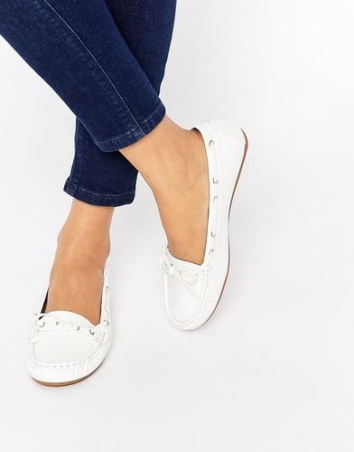 Туфли на плоской подошве ASOS MASTER - Белый