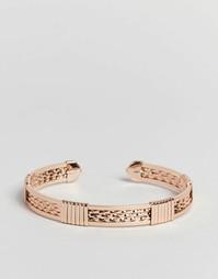 Браслет-манжета ASOS - Розовое золото