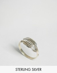 Серебряное кольцо Reclaimed Vintage - Серебряный