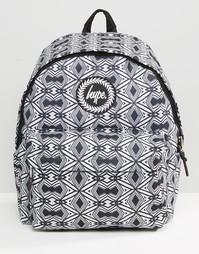 Рюкзак с ацтекским принтом Hype - Черный
