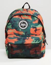 Камуфляжный рюкзак Hype - Зеленый
