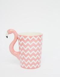 Кружка с фламинго Sass & Belle - Розовый