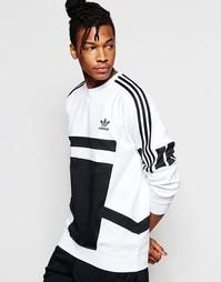Свитшот с круглым вырезом adidas Originals 'Bleached Out' B45876