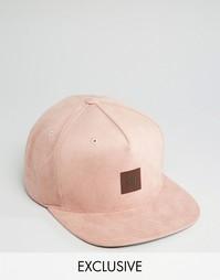 Бейсболка Mitchell & Ness эксклюзивно для ASOS - Розовый