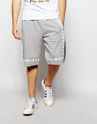 Удлиненные шорты с маргаритками adidas Originals X Pharrell AO2997
