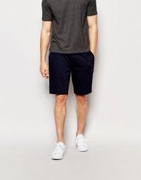 ASOS Skinny Mid Length Smart Shorts In Navy - Темно-синий