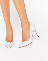 Туфли на высоком каблуке с острым носом ASOS PEPPER - Синий