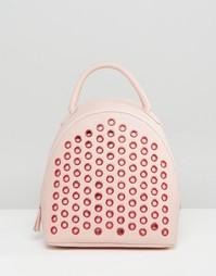 Рюкзак с заклепками ASOS - Розовый