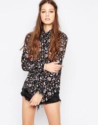 Рубашка с принтом пейсли Glamorous