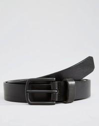 Черный кожаный ремень Royal RepubliQ Legacy - Черный