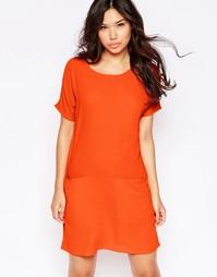 Платье-футболка прямого кроя Twin Sister - Fluro orange