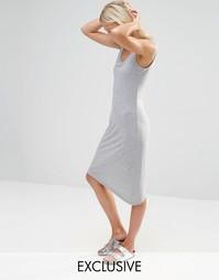 Трикотажное платье Nocozo - Светло-черный