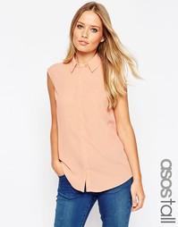 Блузка без рукавов ASOS TALL - Blush