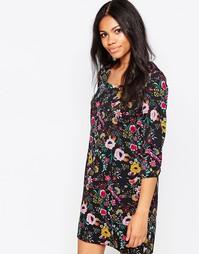Свободное платье в этническом стиле Poppy Lux Shonda - Мульти