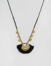 Длинное ожерелье Pieces Gaiane - Золотой
