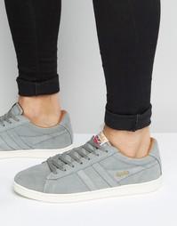 Замшевые кроссовки Gola Equipe - Серый