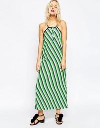 Платье-сорочка миди House of Holland - Зеленый