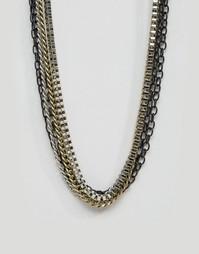 Ожерелья-цепочки в комплекте ASOS - Мульти