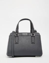 Компактная сумка дафл Calvin Klein - Угольный