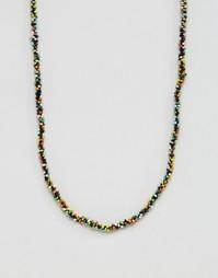 Разноцветное ожерелье ASOS - Мульти