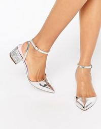 Туфли на каблуке с заостренным носком и отделкой ASOS STARDOM