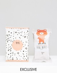 Сухие и влажные салфетки Oh K! - Набор из двух средств для лица Beauty Extras