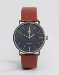 Часы со светло-коричневым ремешком ASOS - Рыжий