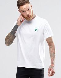 Белая футболка классического кроя с логотипом PS Paul Smith - Белый