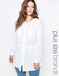 Блузка Junarose Clea - Снежно-белый