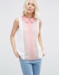 Блузка без рукавов в стиле колор блок ASOS - Мульти