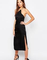 Платье-сорочка на тонких бретелях Finders Keepers - Черный