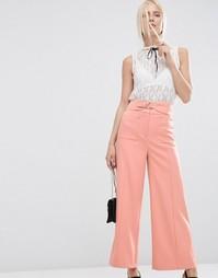 Юбка-брюки с завышенной талией ASOS - Нежно-розовый